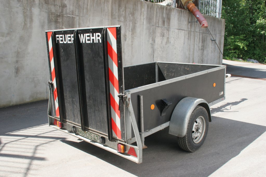 Geräteanhänger-Logistik
